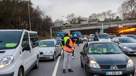 Morta manifestante in Francia