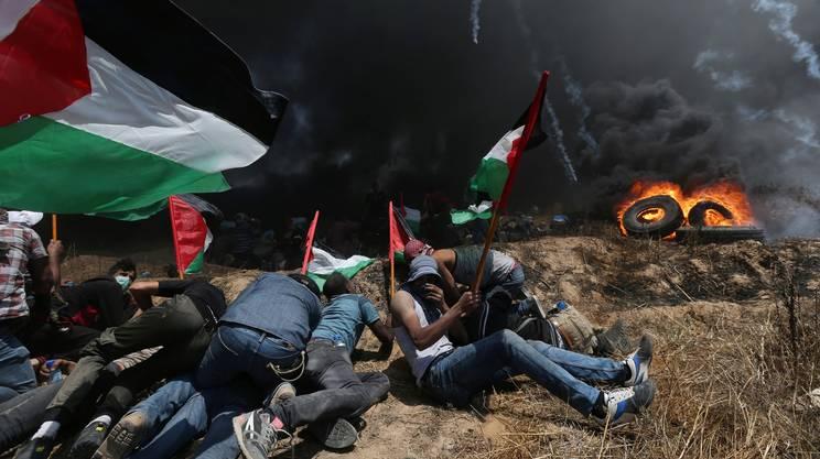 Giornata di sangue nella Striscia di Gaza