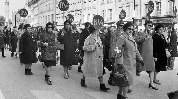 Marcia su Berna, 1 marzo 1969