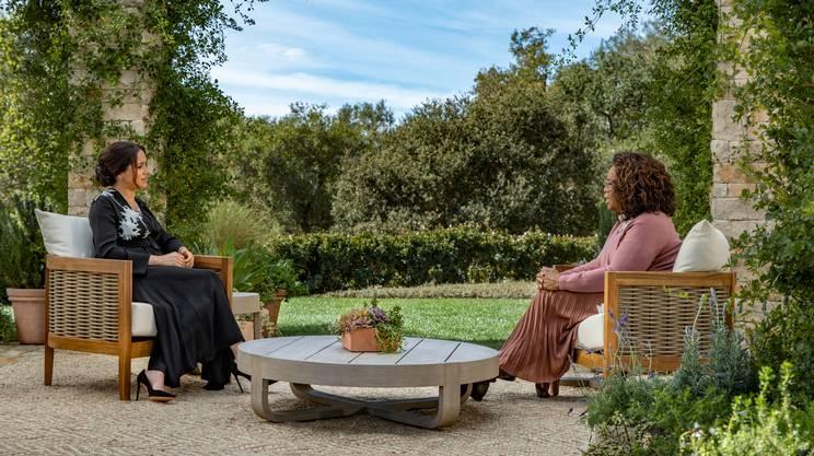 Meghan con Oprah Winfrey