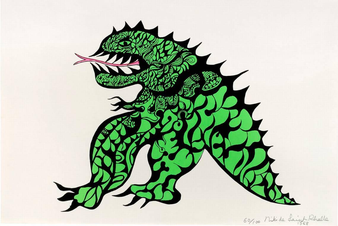 Niki de Saint Phalle, My Monster, 1968