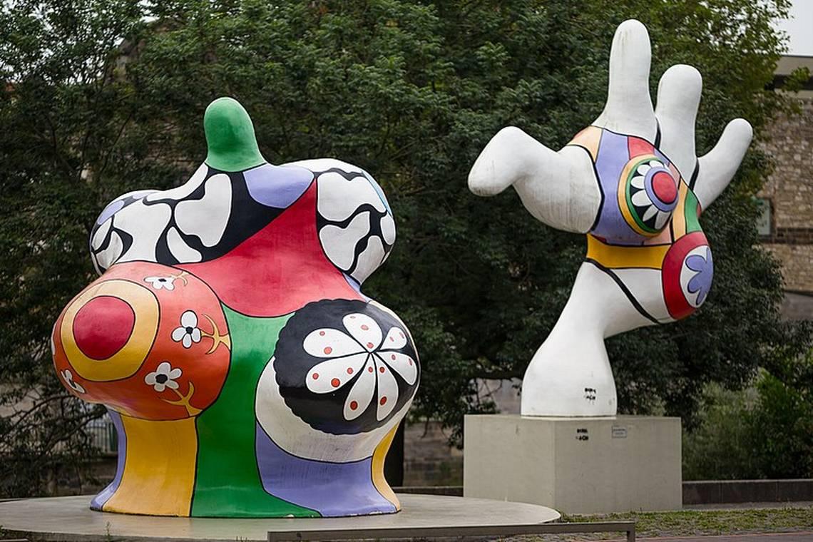 Niki de Saint Phalle, Nanas, Leibnizufer, Hannover, Germany
