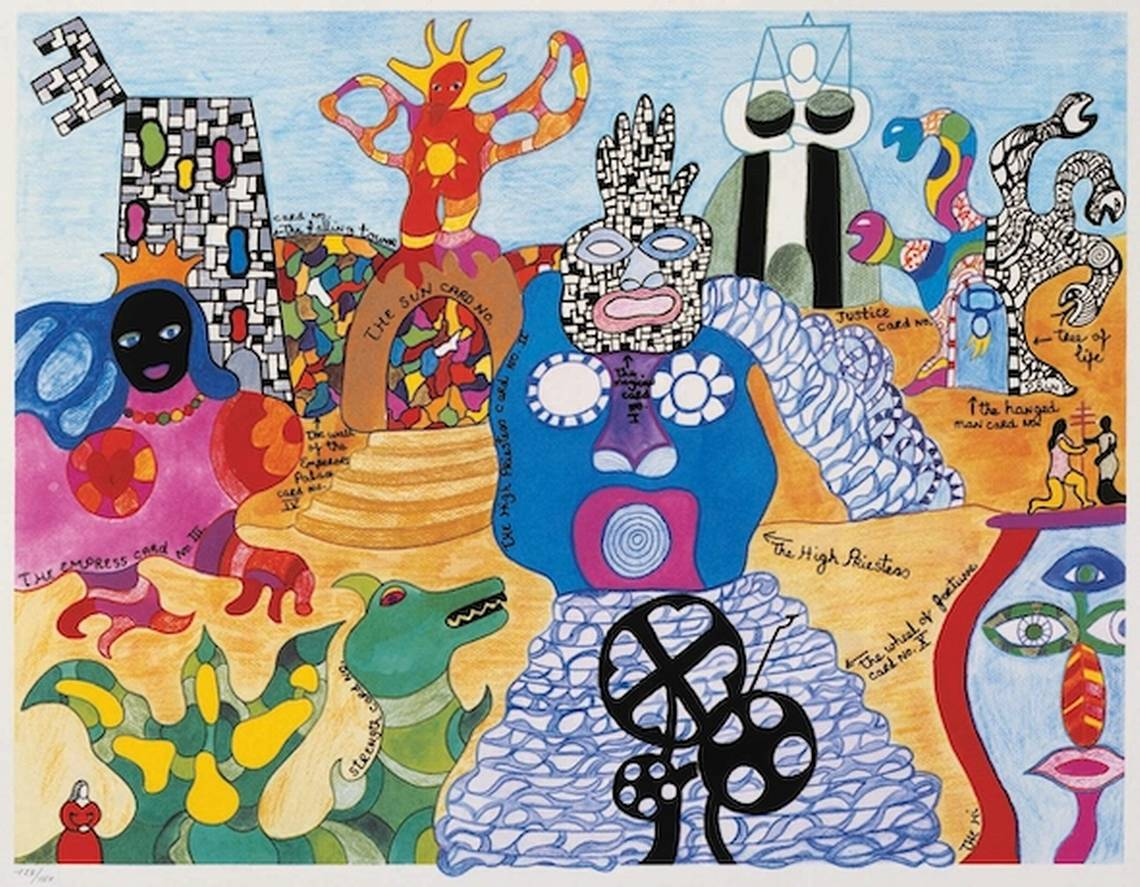 Niki de Saint Phalle, Tarot Garden, 1991