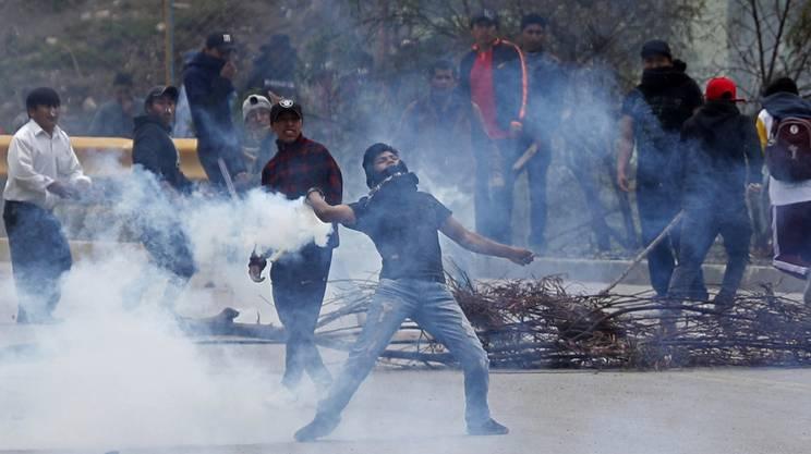 Non si placano le proteste e gli scontri in Bolivia