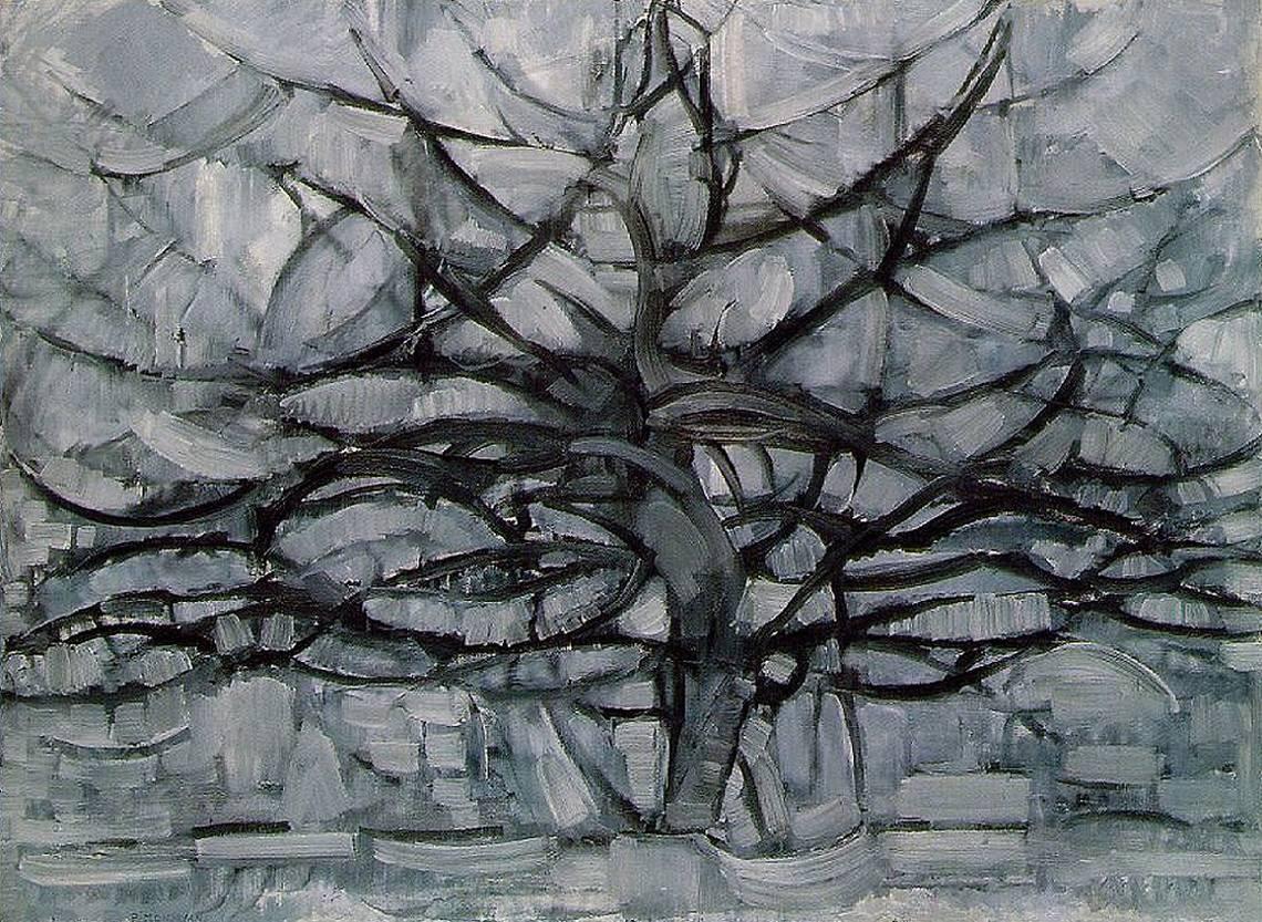 Piet Mondrian, Albero grigio, 1911