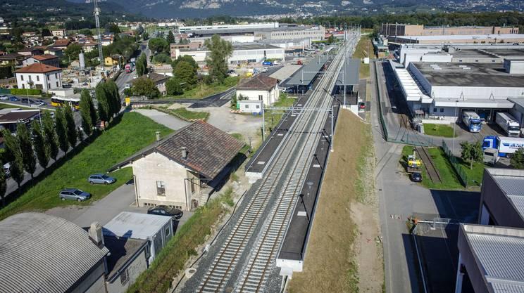 Stabio, la nuova stazione e la FMV (archivio)