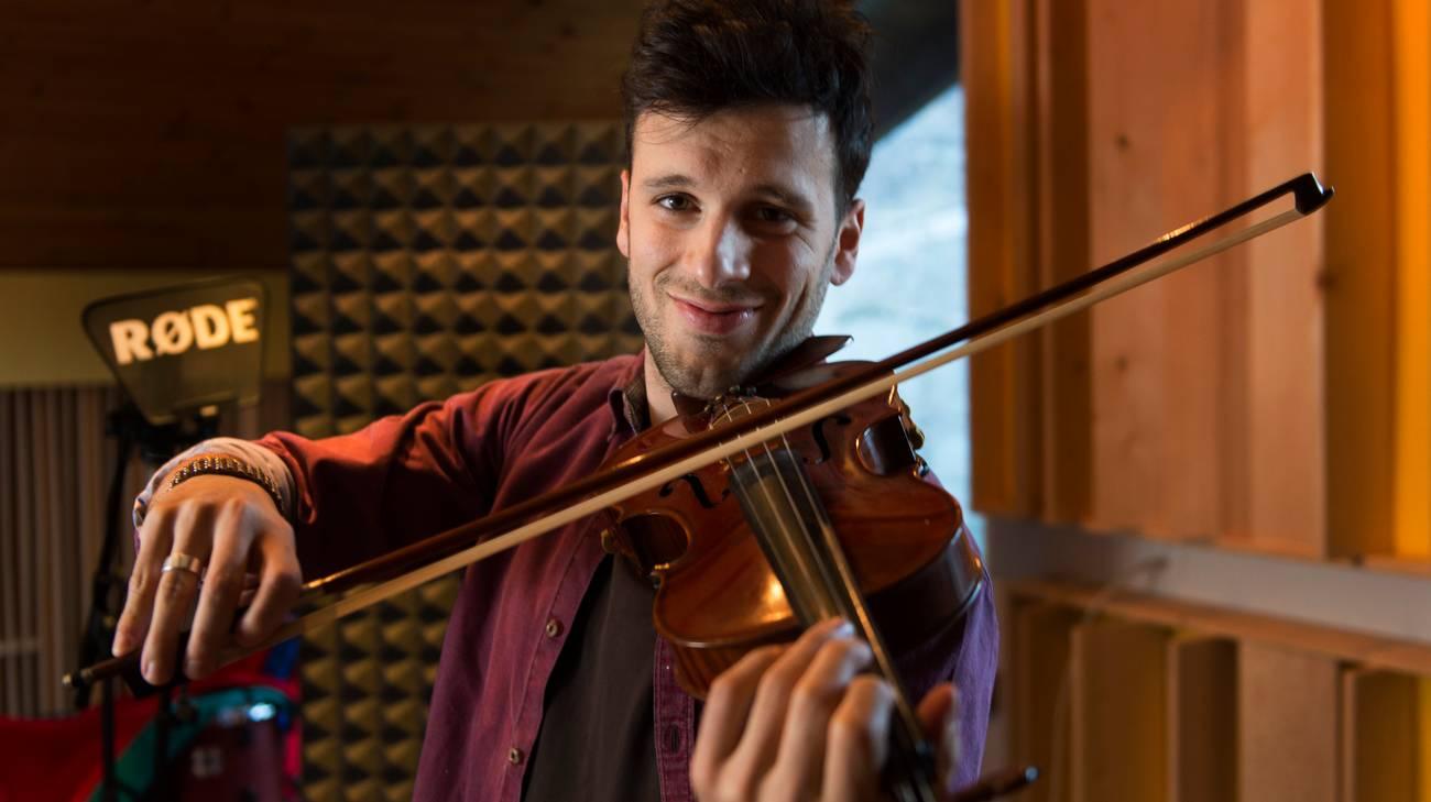 Un po' di Ticino alla finale di Eurosong: il giubiaschese Sebalter