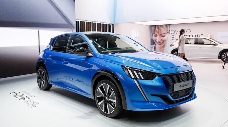 Una Peugeot al Salone di Ginevra del 2019