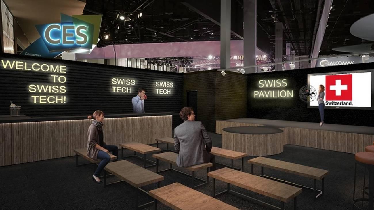 Una vetrina per trenta start-up elvetiche al Consumer Electronics Show