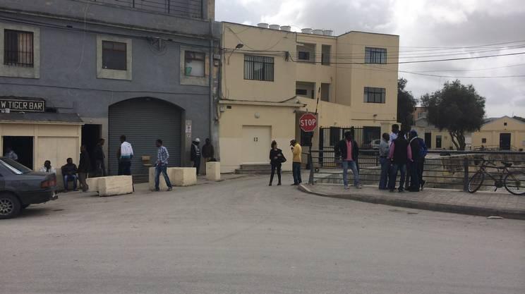 Unico scopo, scappare da Tripoli