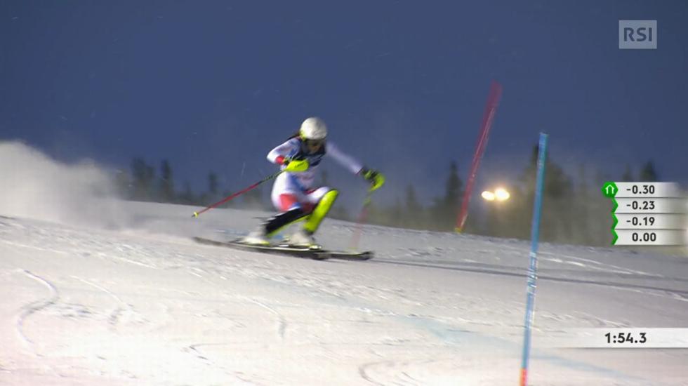 Mondiali di Are, lo slalom di Wendy Holdener valido per la combinata (08.02.2019)