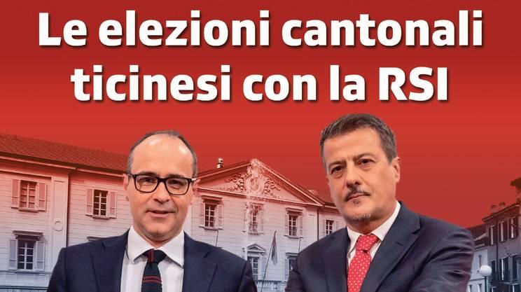 Le elezioni cantonali ticinesi 2019 alla RSI