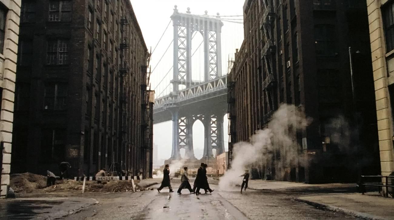 Una delle scene più iconiche del film (© 1984 Leone Film Group)
