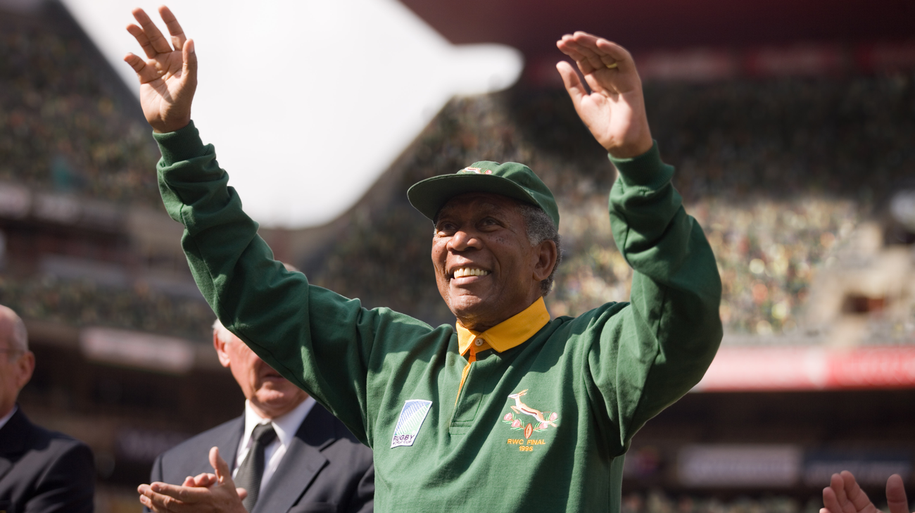 Morgan Freeman nei panni di Nelson Mandela (© 2009 Warner Bros.)
