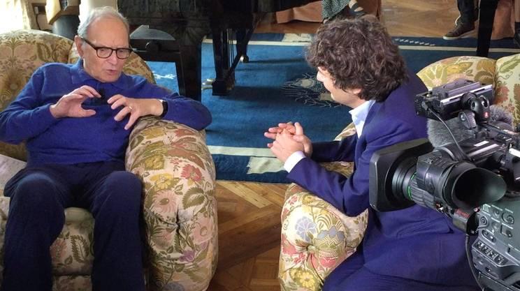 C'era una volta... la musica: incontro con Ennio Morricone