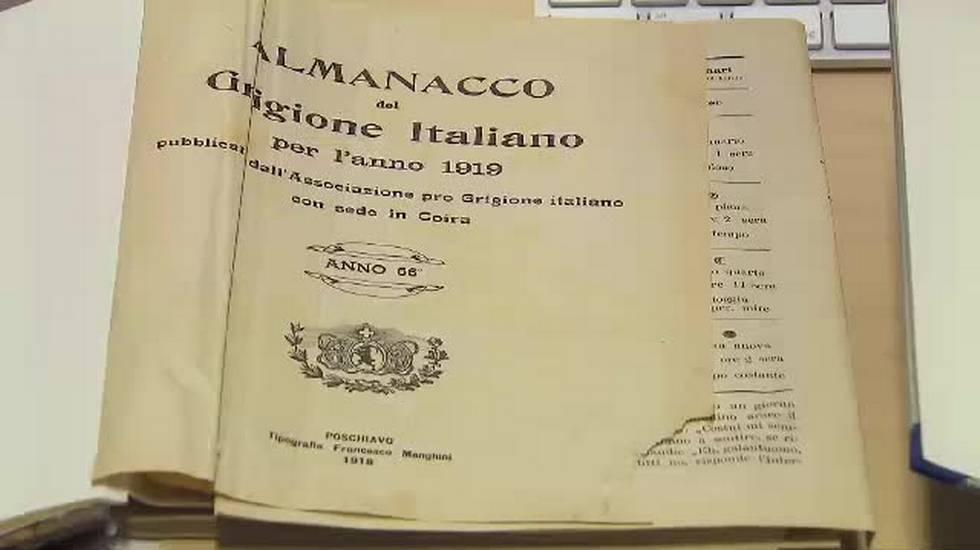 Pro Grigioni italiano da 100 anni