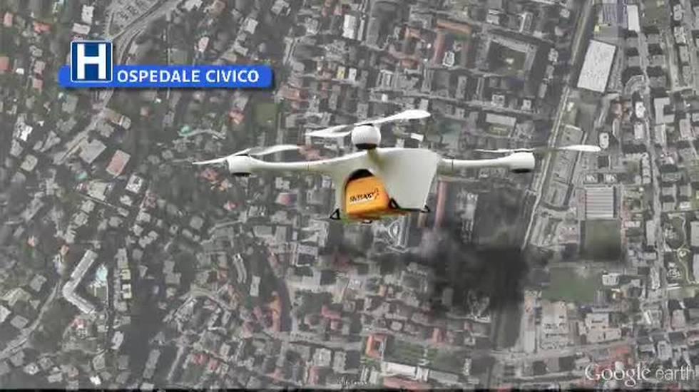 Il drone ospedaliero