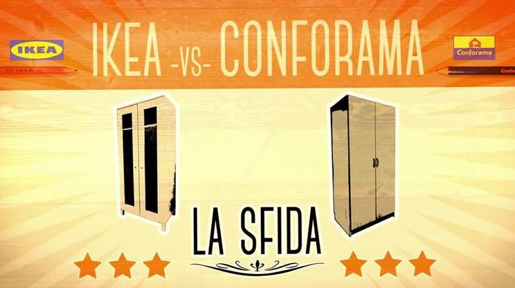 Ikea vs conforama sfida all 39 ultima vite rsi for Conforama il piacere di arredare low cost