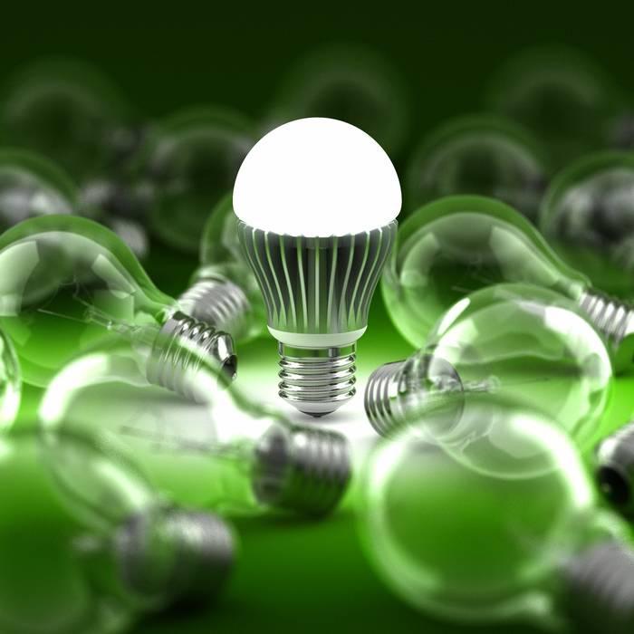 E luce (LED) fu