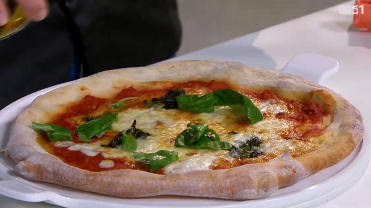 La pizza Margherita di Ciro Coppola