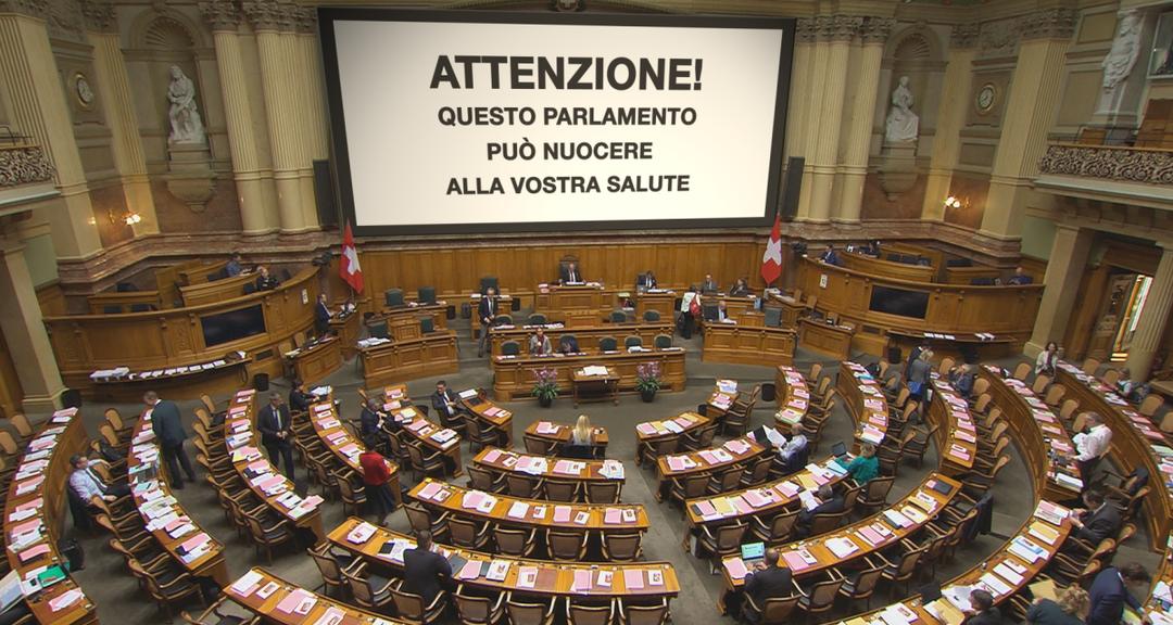 Attenzione questo parlamento pu nuocere alla vostra for Streaming parlamento