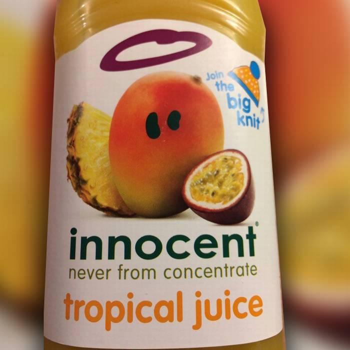 Quando un succo di tropicale ha solo il prezzo!