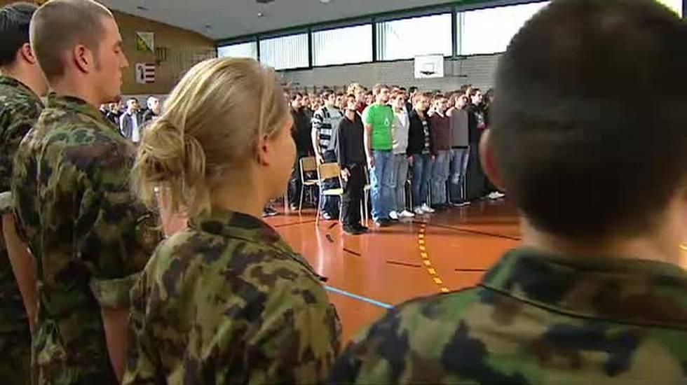 Sempre più donne nell'esercito