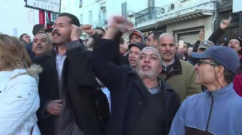 Le proteste in Tunisia