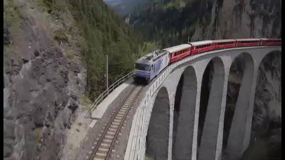 Ferrovia retica in crescita