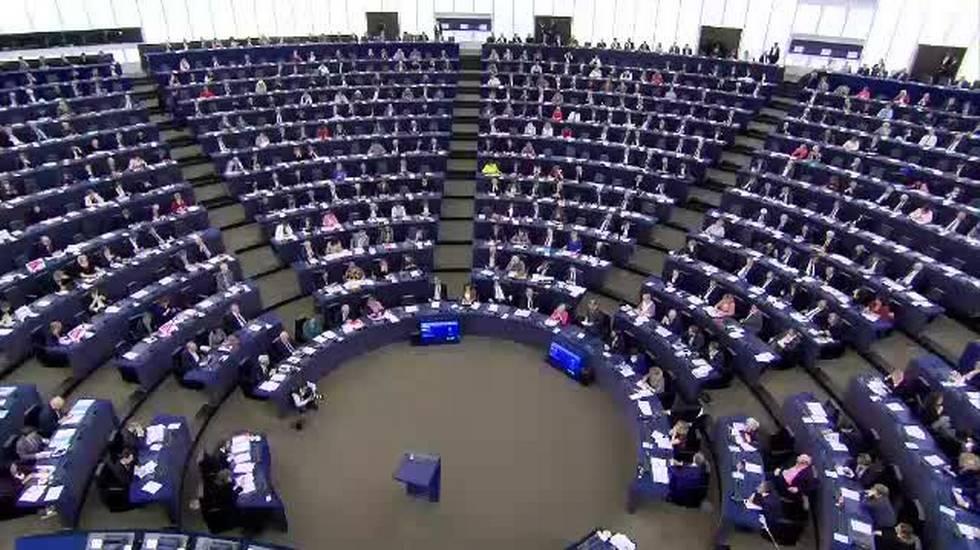 Macron al Parlamento Europeo