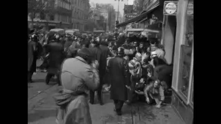 1968, l'occupazione della Sorbona
