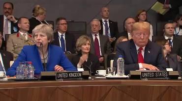 11.07.2018: Vertice NATO, Trump attacca Merkel, poi ci ripensa