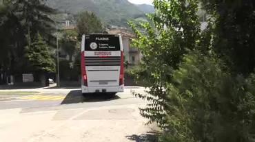 Eurobus, partenza sotto tono