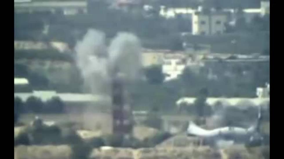 Striscia di Gaza, raid israeliani contro Hamas