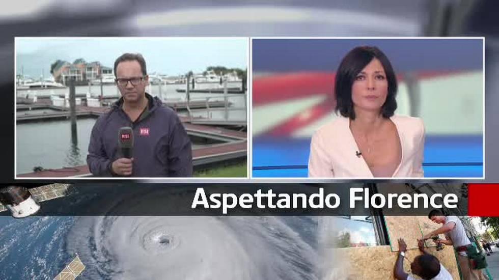 USA, l'imminente arrivo dell'uragano Florence