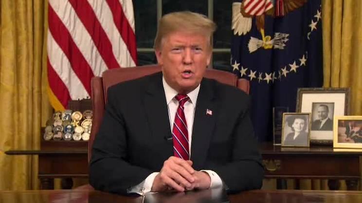 Muro contro muro tra Trump e i democratici