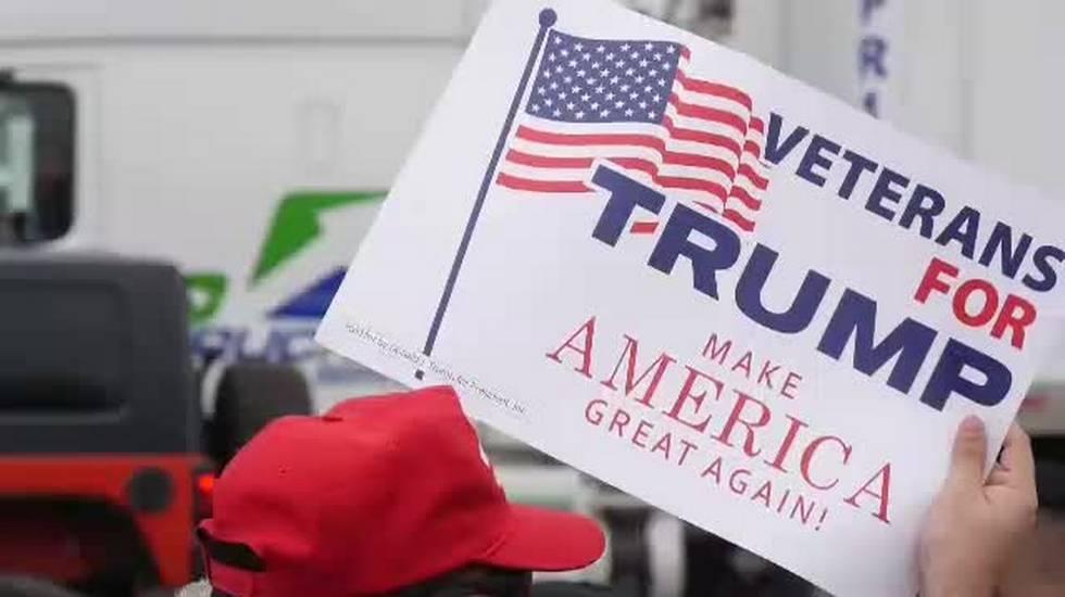 Trump difende il muro
