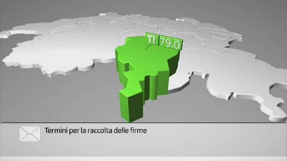 Votazioni in Ticino, quattro sì