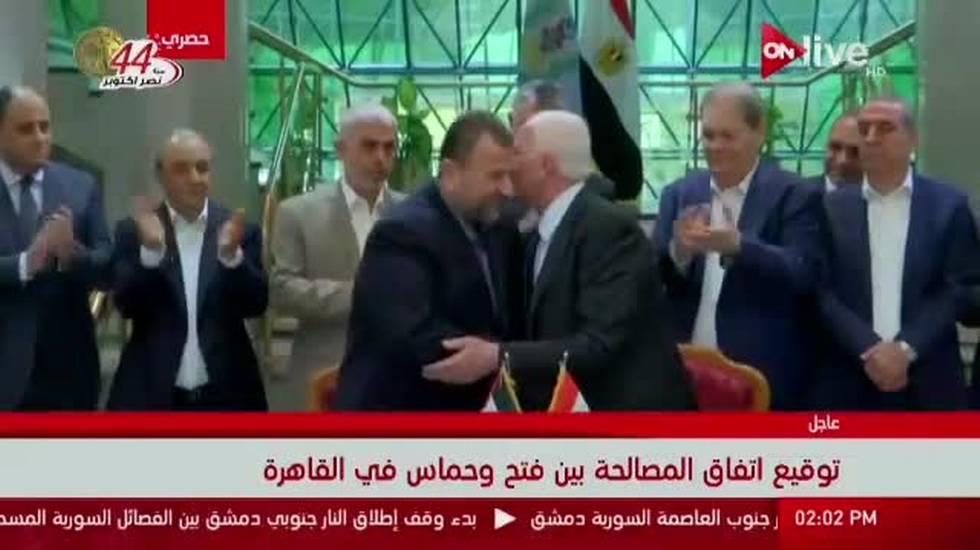 Al Fatah e Hamas, accordo storico