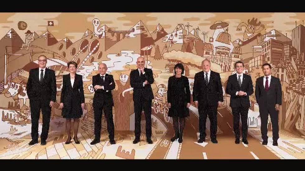 Nuova foto ufficiale del consiglio federale