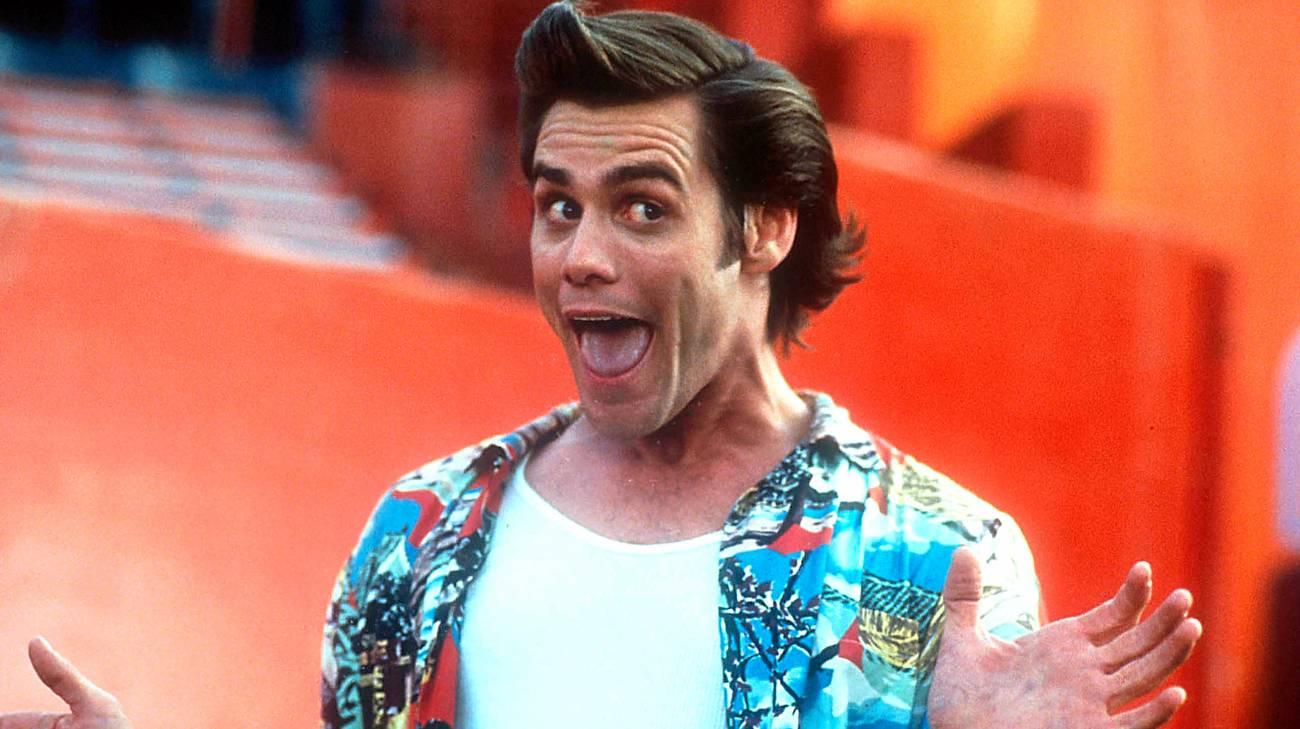 Jim Carrey nei panni del protagonista del film (© 1994 Warner Bros.)