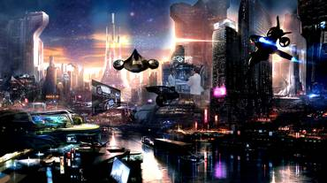 Notte fantascienza