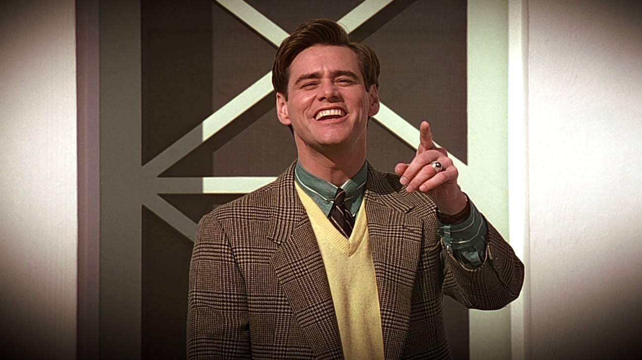 Jim Carrey in una scena del film (© 1998 Paramount Pictures)