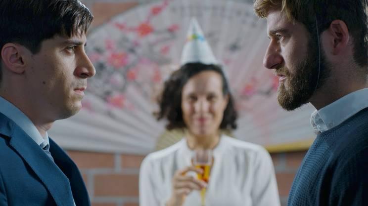 La sceneggiatura della serie web La strategia dell'acqua di Fabio Pellegrinelli (2018) è nata dal Web Series Lab, un'iniziativa formativa di scrittura per il cinema organizzata da RSI.