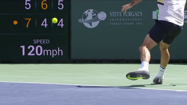 La copertina dedicata a Federer in finale ad Indian Wells (Sport Non Stop 18.03.2018)