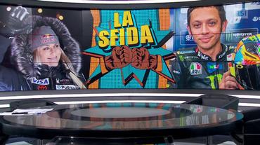 La sfida tra Vonn e Valentino Rossi (Sport Non Stop 17.02.2019)