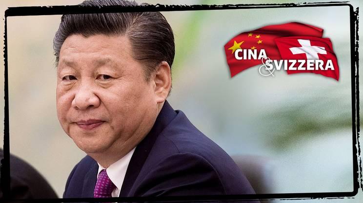 Xi Jinping in Svizzera