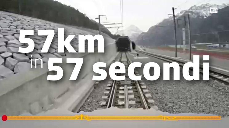 Un treno a 3'600 all'ora