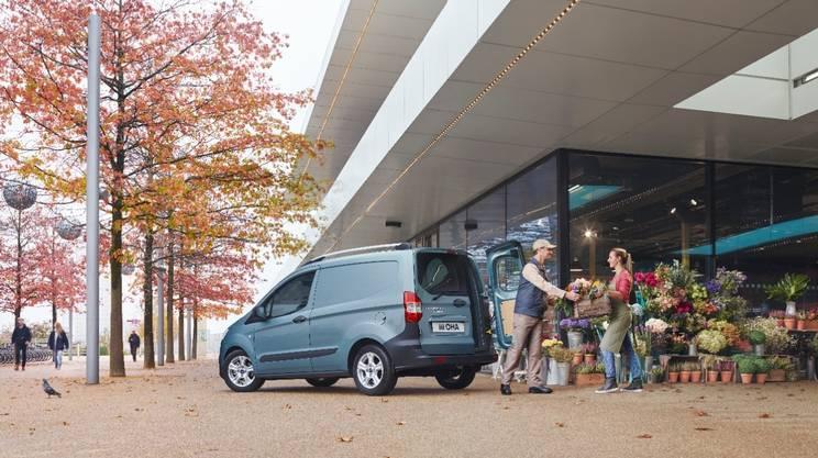 Ford ottiene ottimi risultati con veicoli commerciali come il Transit Courier