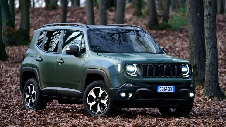 L'aspetto pratico delle SUV compatte come la Jeep Renegade, apprezzate dagli elvetici